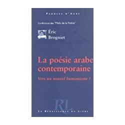 La poésie arabe contemporaine