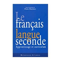 Le Français langue seconde...